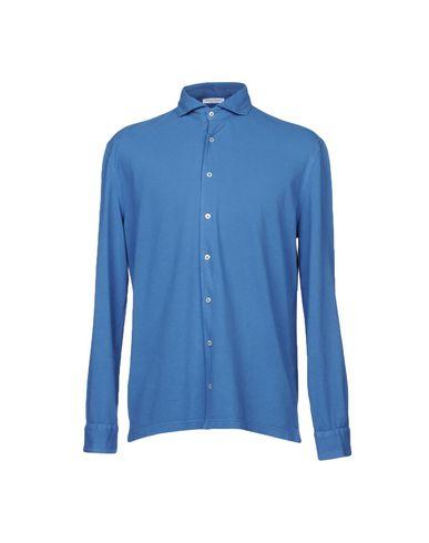 GRAN SASSO Einfarbiges Hemd Verkauf Niedriger Versand zsz4xY3Cko