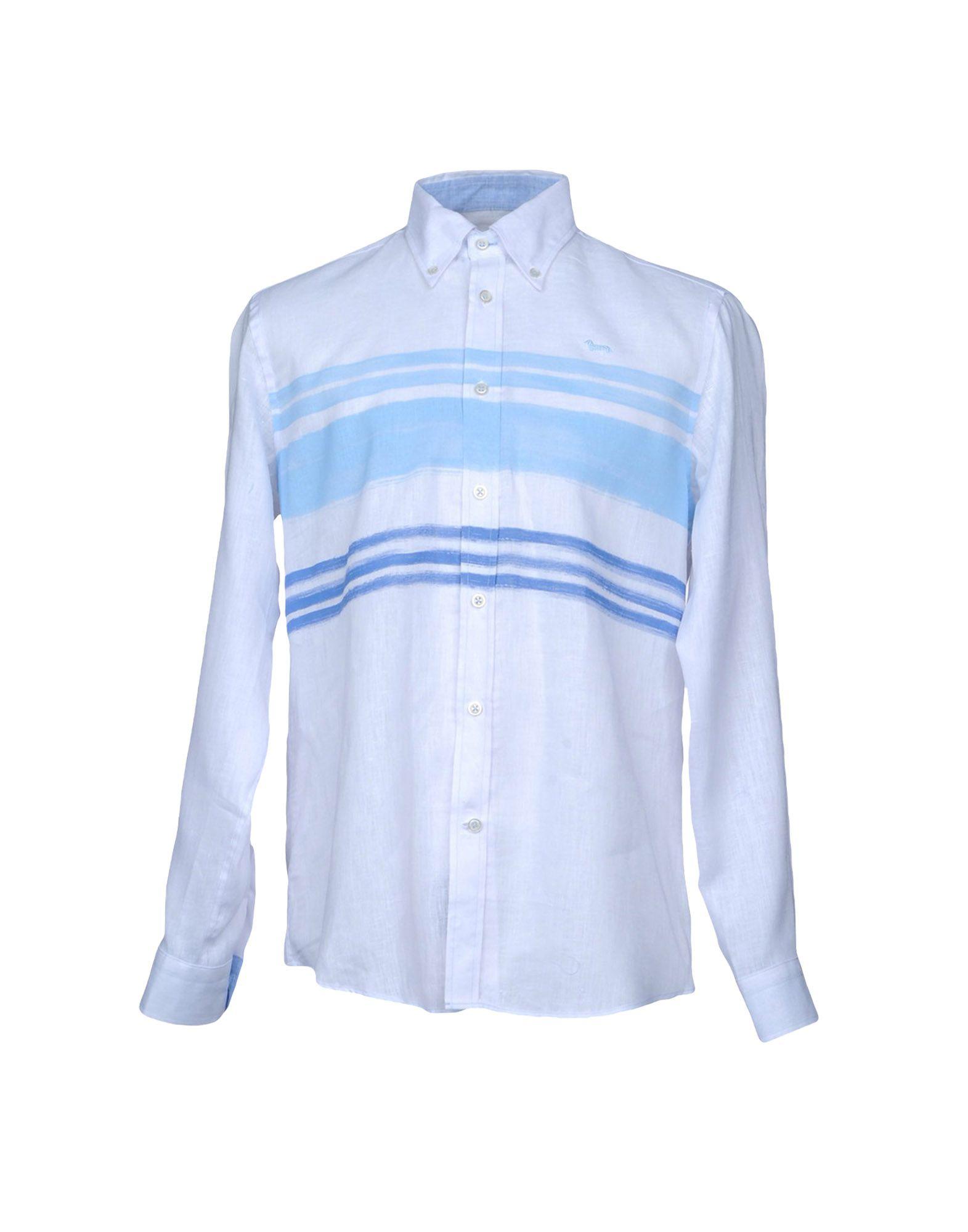 Camicia In Lino Harmont&Blaine Uomo - Acquista online su