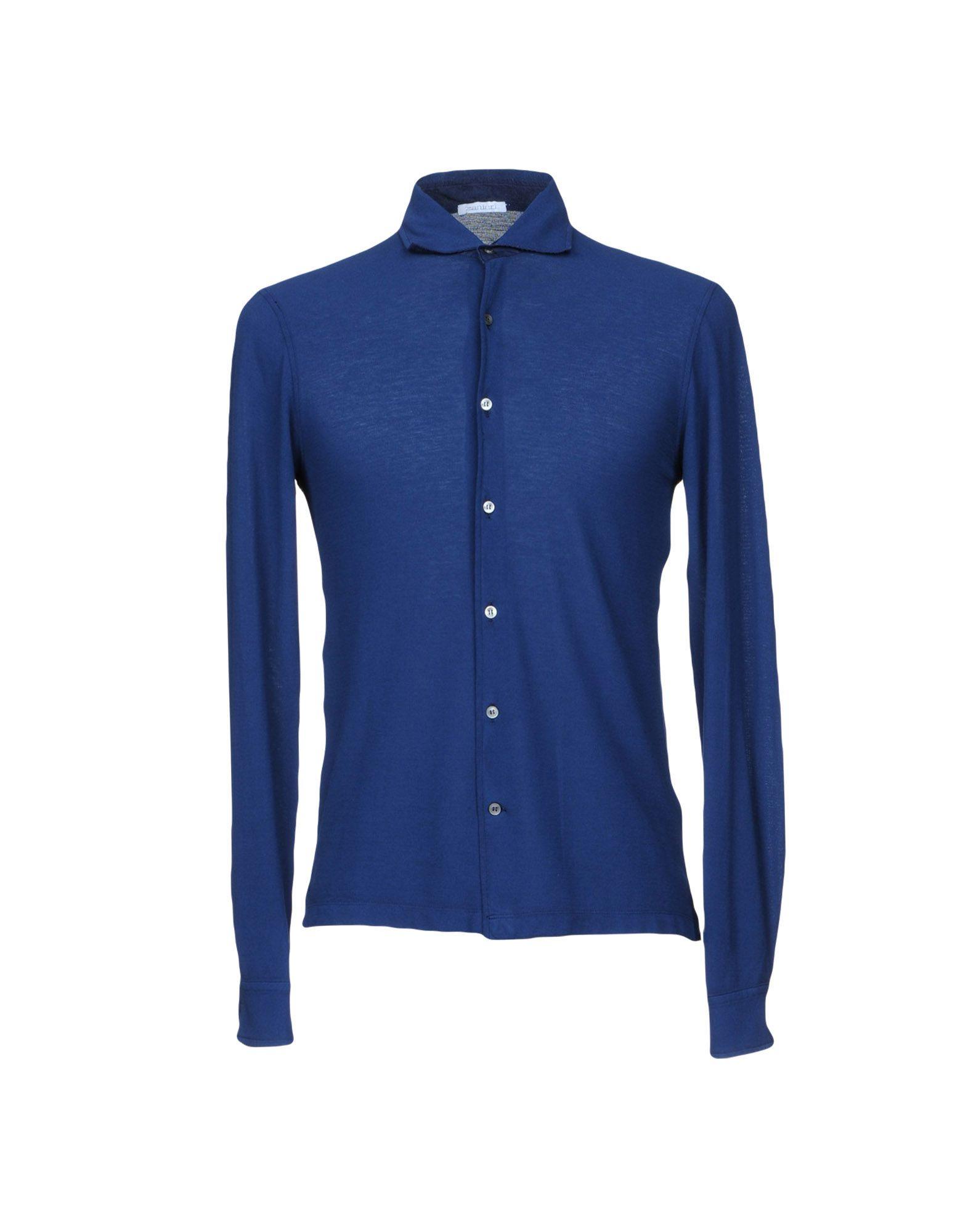 Camicia Tinta Unita Zanieri Uomo - Acquista online su