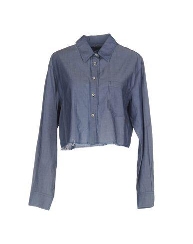 (+) PEOPLE Camisas y blusas lisas