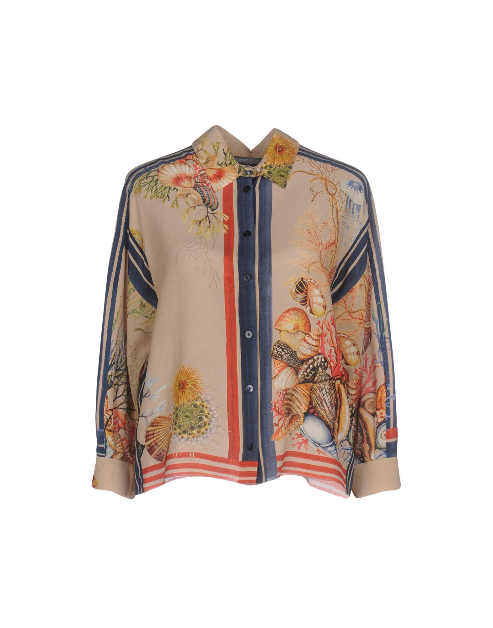 Camicie E Bluse Fantasia Alberta Ferretti Donna - Acquista online su
