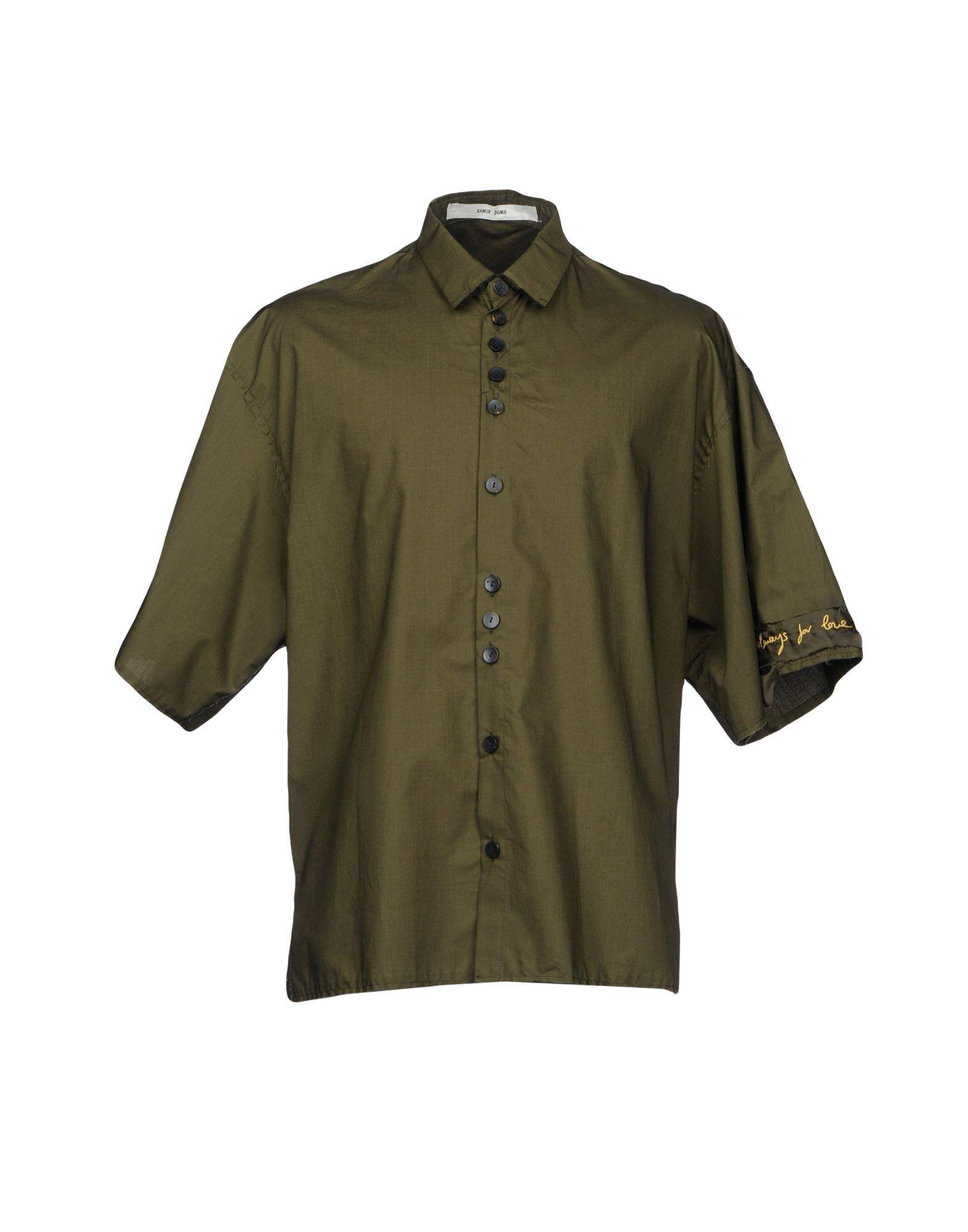 Camicia Tinta Unita Damir Doma Uomo - Acquista online su