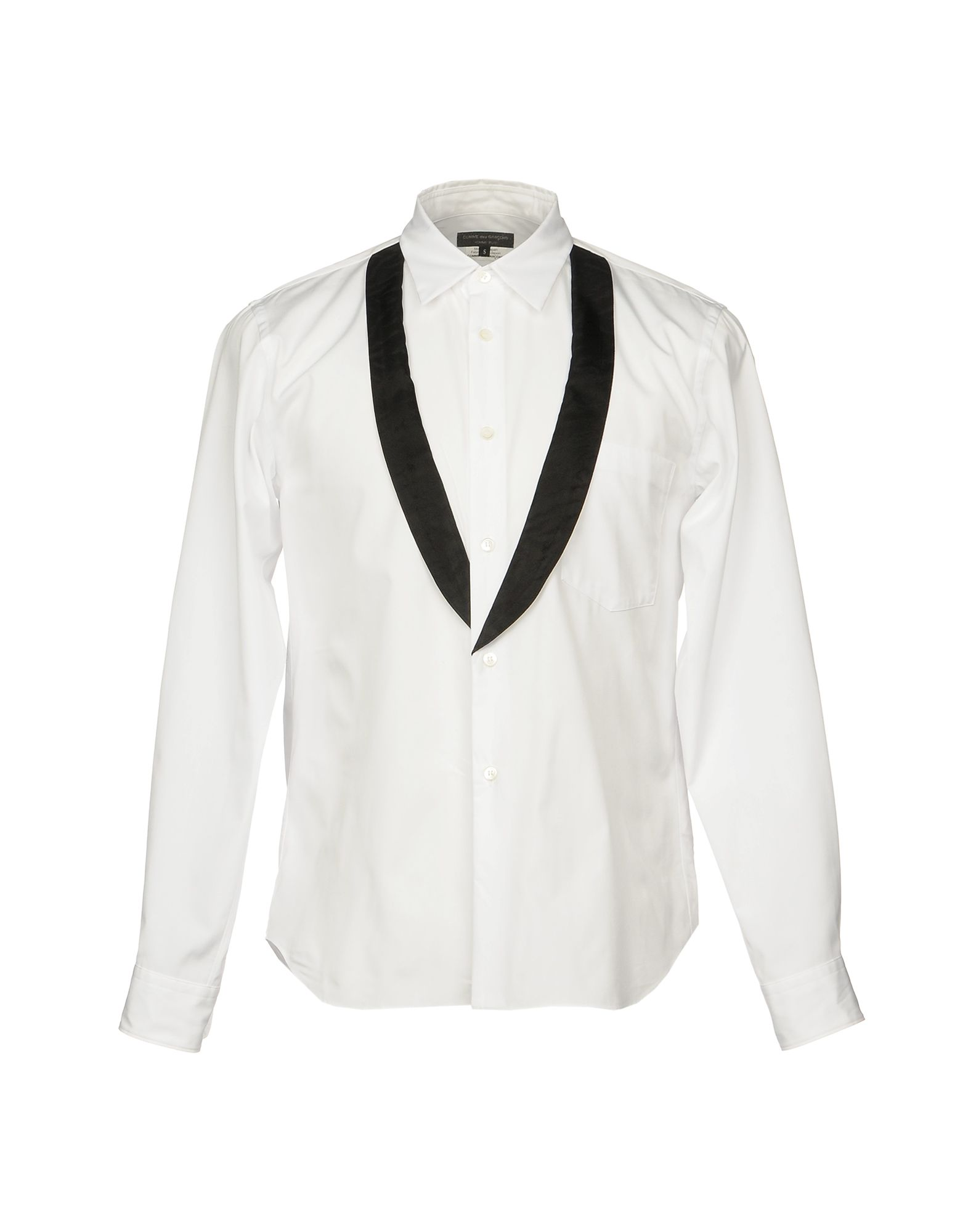 Camicia Tinta Unita Comme Des Garçons Homme Plus Uomo - Acquista online su