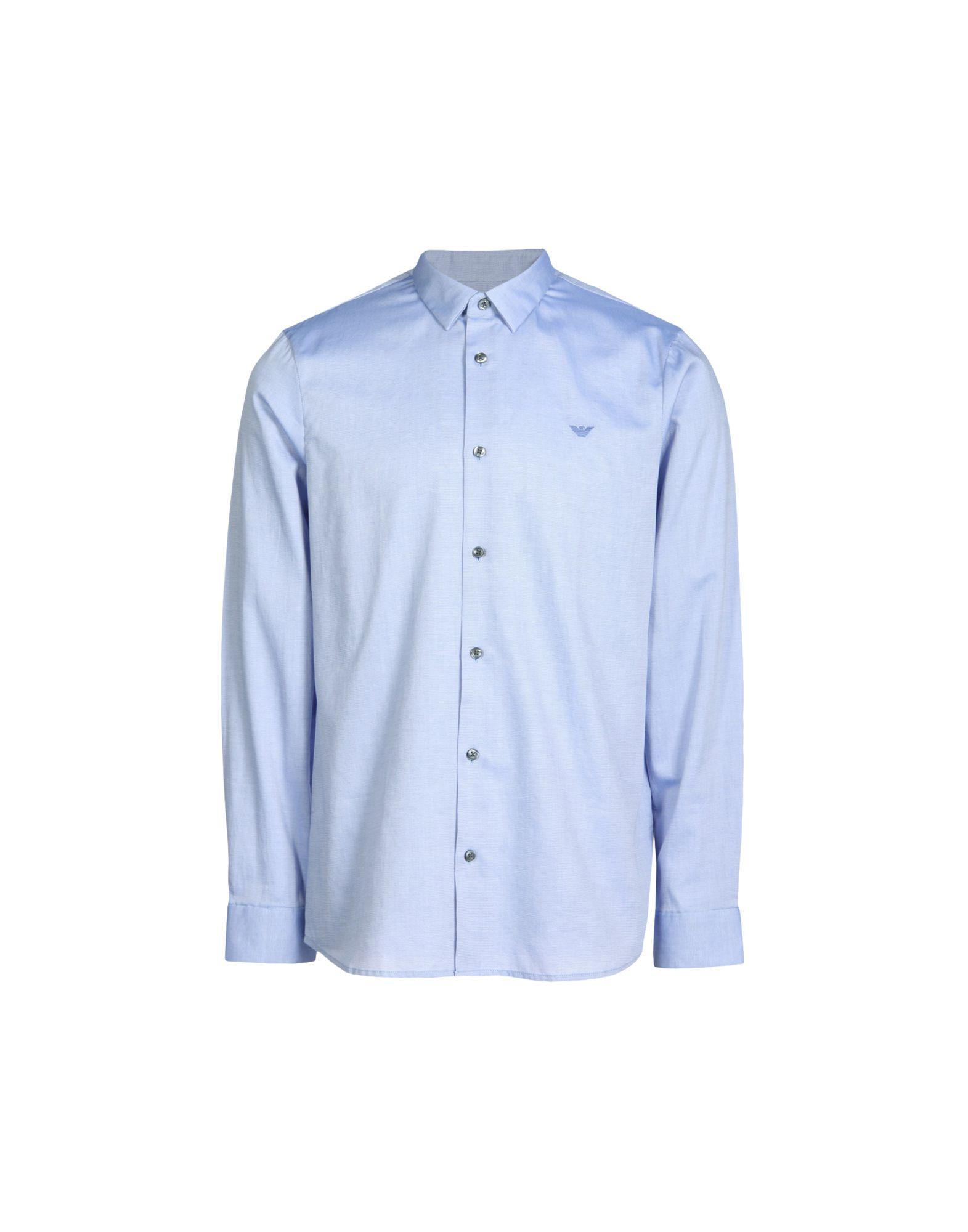Camicia Tinta Unita Unita Unita Emporio Armani Uomo - 38681824RF 3a7fc3