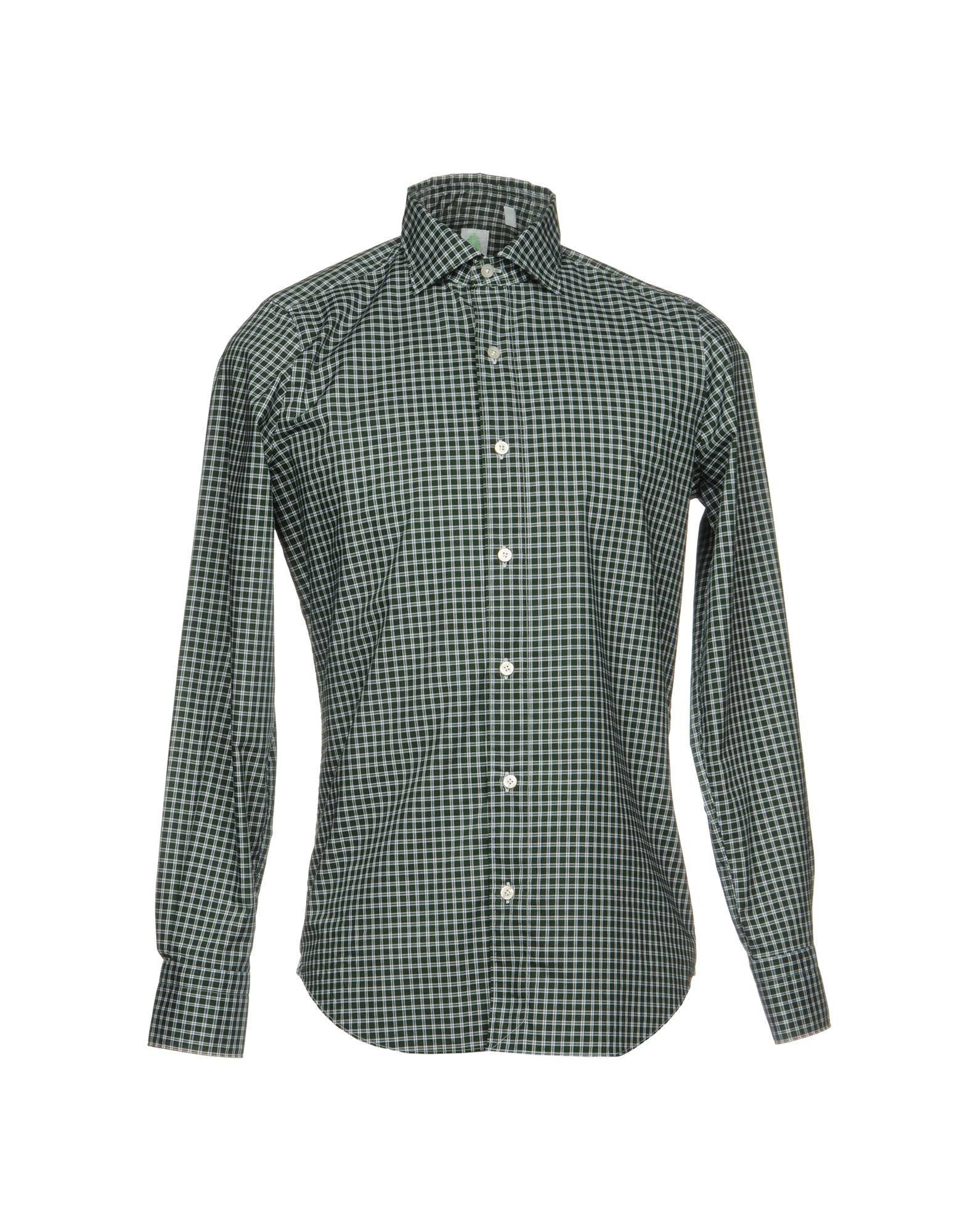Camicia A Quadri Finamore 1925 Uomo - Acquista online su