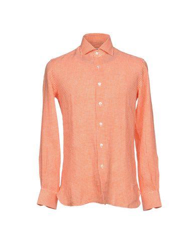 Errico Formicola Rutete Skjorte Napoli utløp rask levering billig i Kina 3Okgm