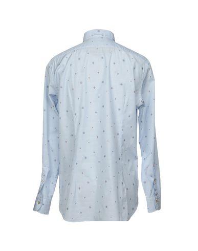 MAZZARELLI Gestreiftes Hemd Auslass Freies Verschiffen Verkaufsschlager 9xu2e