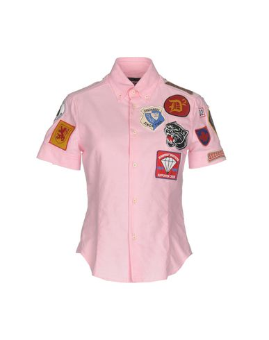 Dsquared2 Skjorter Y Glatte Bluser salg ebay klaring Footlocker bilder IjONyJVd1