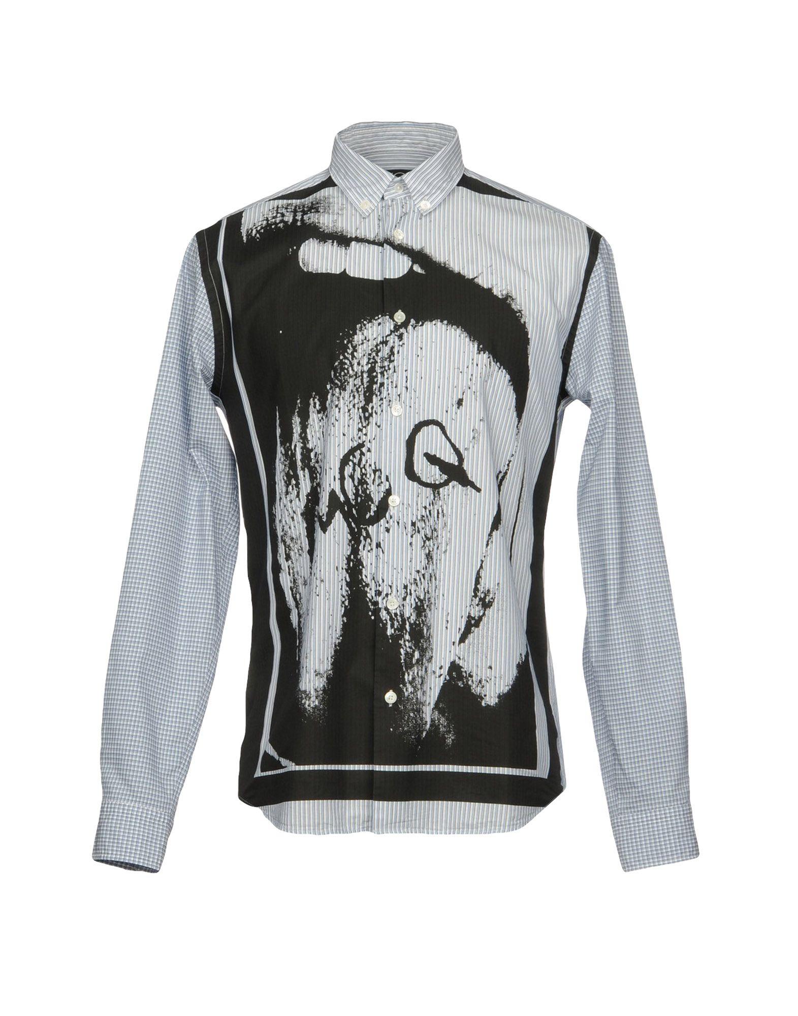 Camicia A Righe Mcq Alexander Mcqueen Uomo - Acquista online su