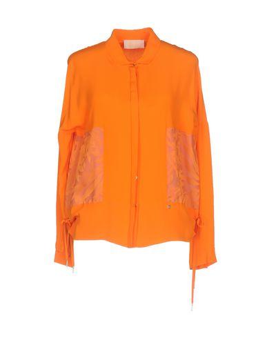 Couleur Chemises Et Chemisiers Collection Vdp De Orange Unie xXAZqB