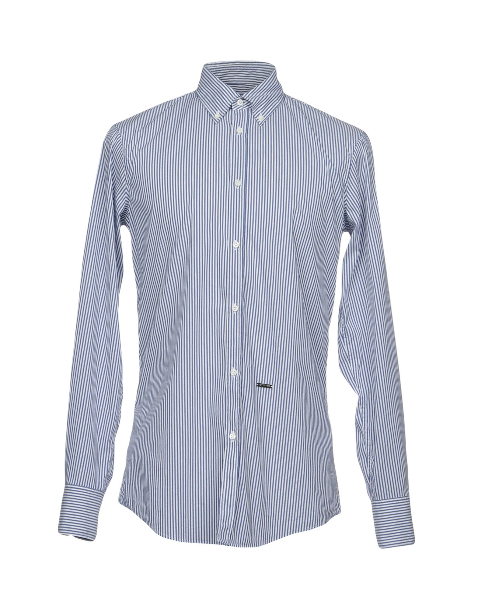 Camicia A Righe Dsquared2 Uomo - Acquista online su