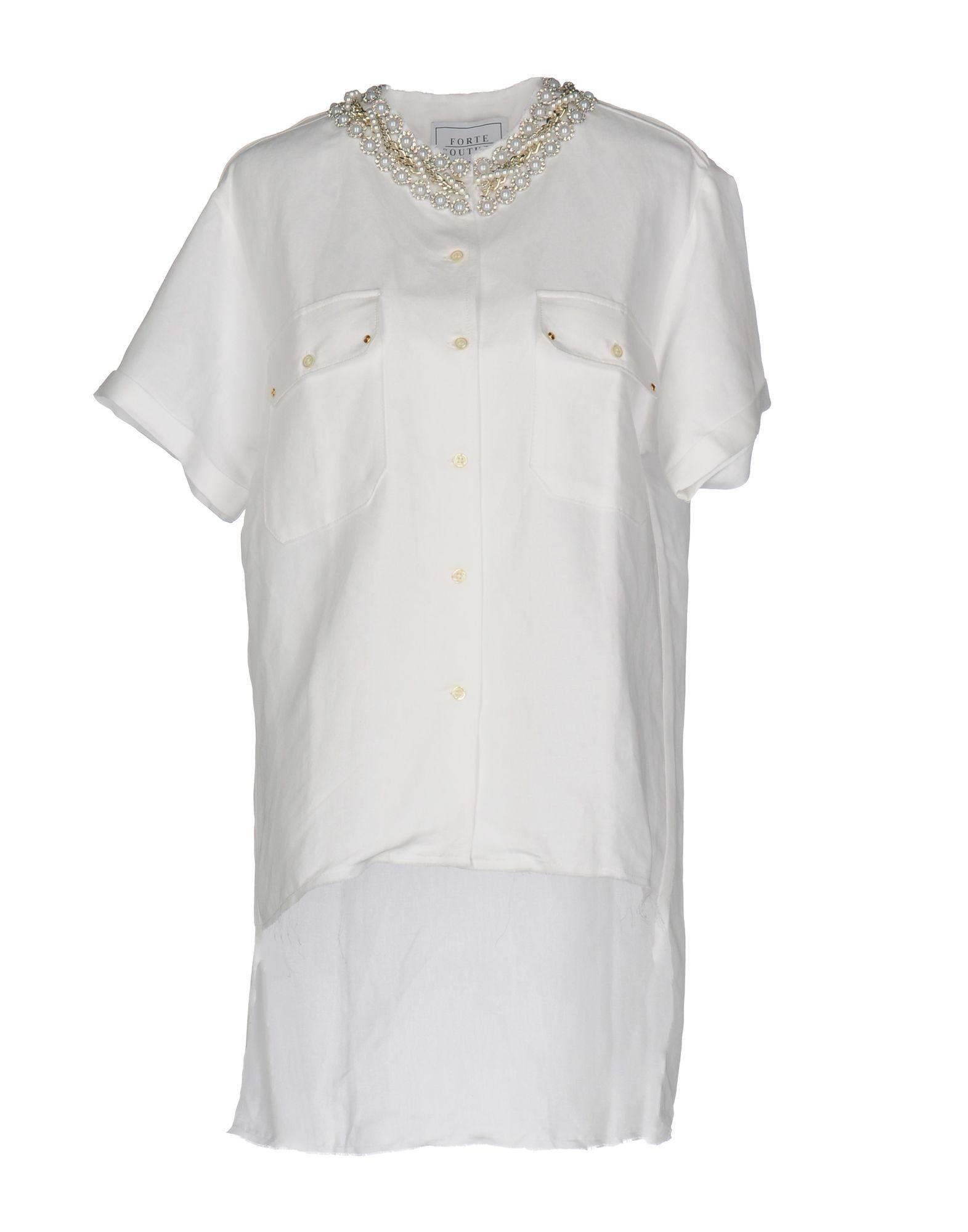 Camicia In Lino Forte Couture Donna - Acquista online su K5CMR7W