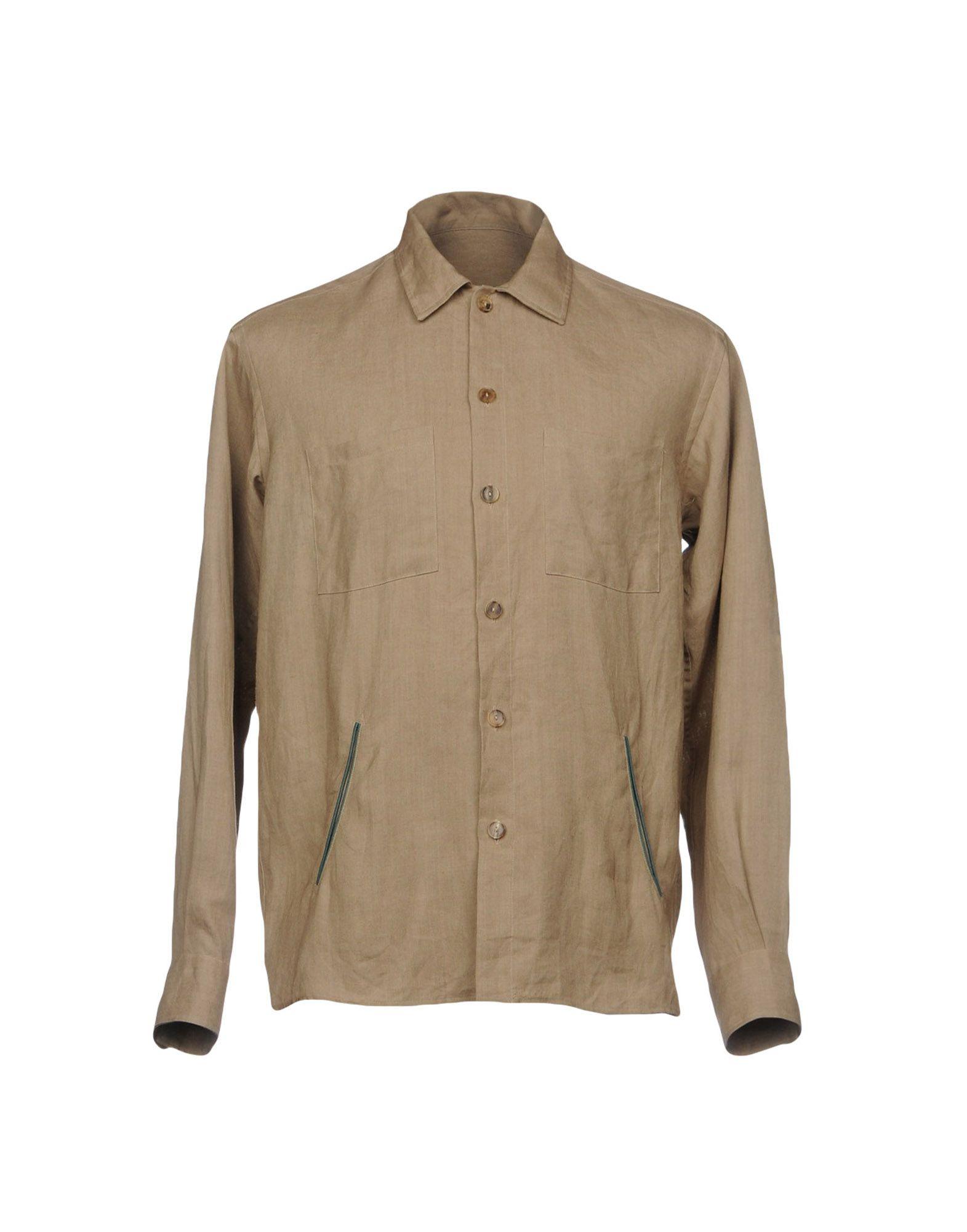 Camicia In Lino Umit Benan Uomo - Acquista online su