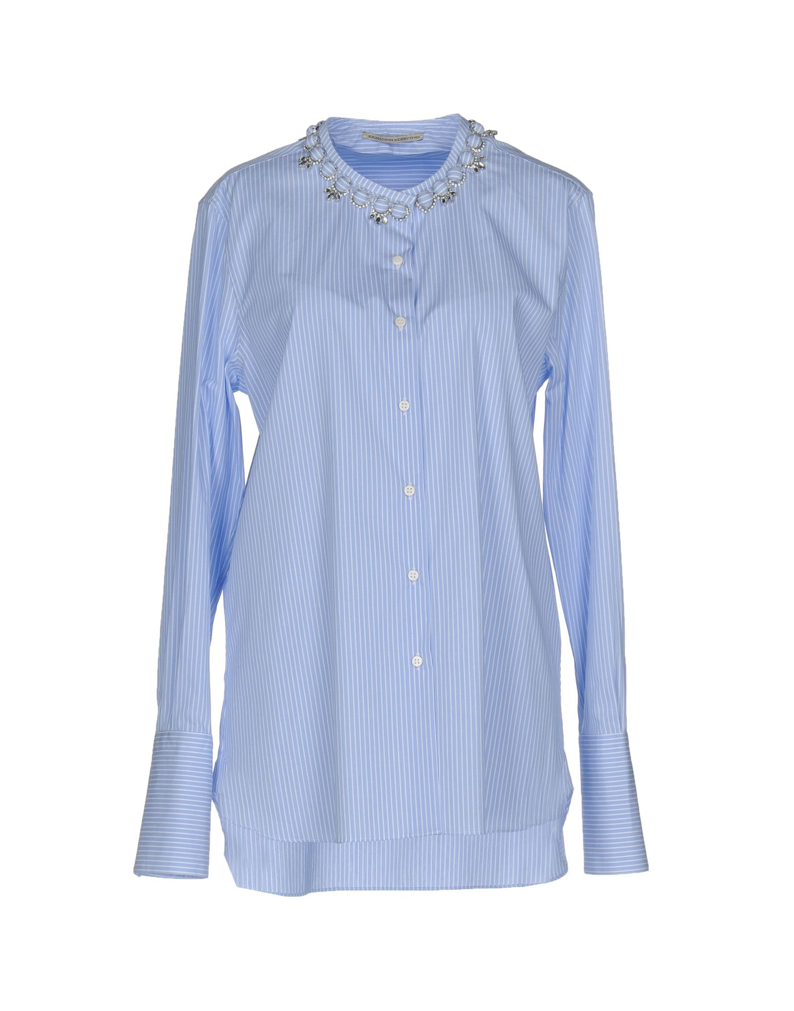 Camicia A Righe Ermanno Scervino Donna - Acquista online su j2FMHeAjY