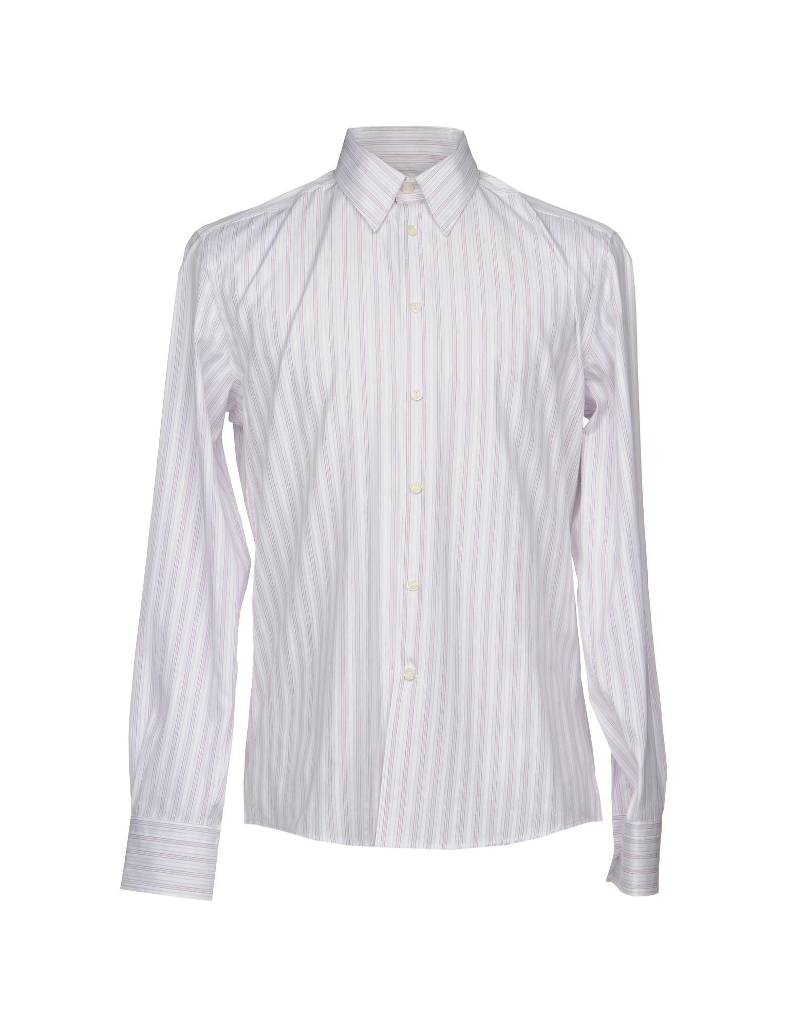 Camicia A Righe Versace Collection Uomo - Acquista online su