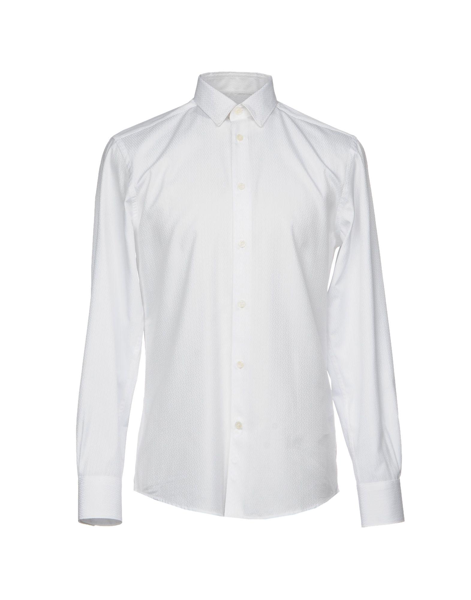 Camicia Tinta Unita Versace Collection Uomo - Acquista online su