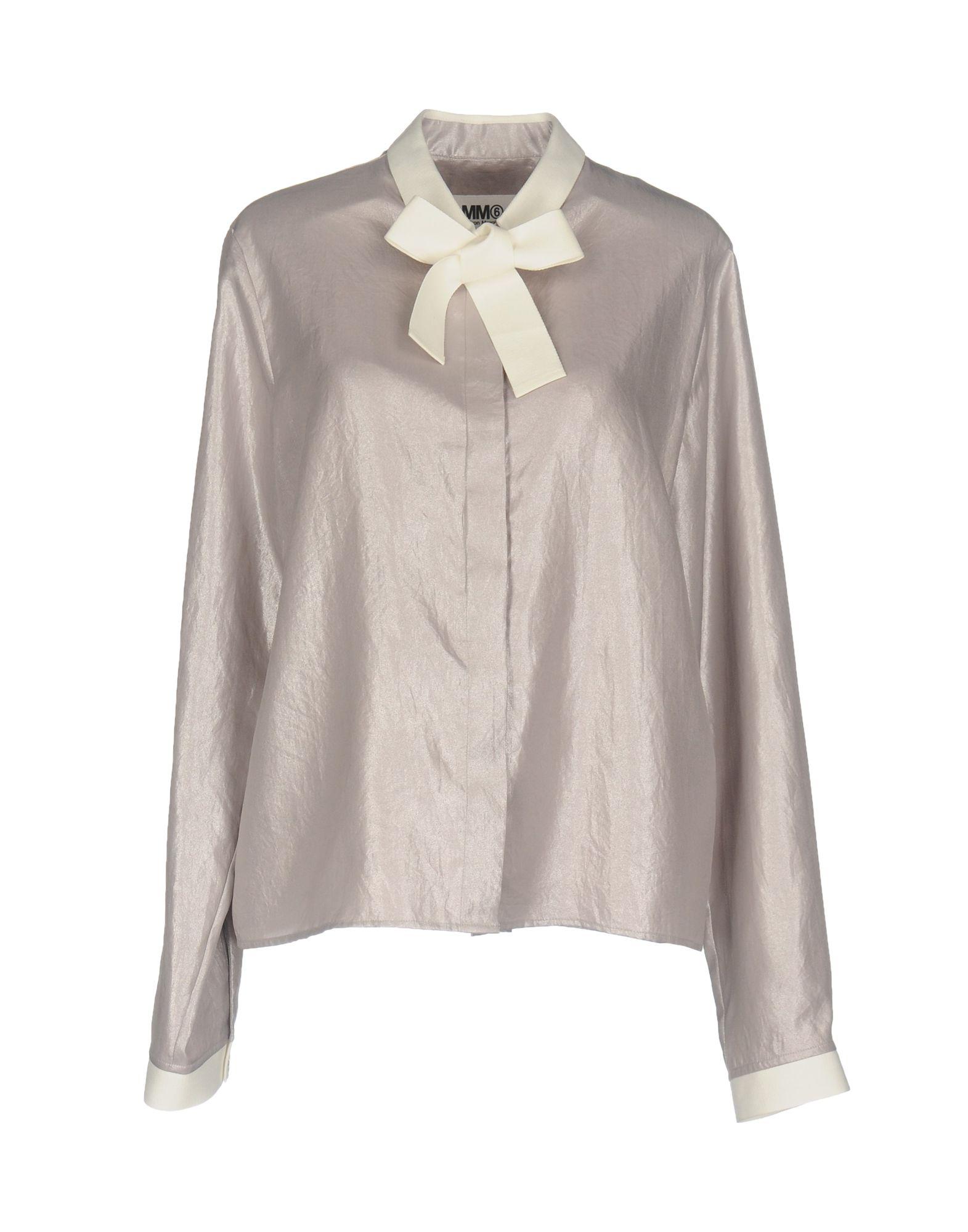 Camicie E Bluse Con Fiocco Mm6 Maison Margiela Donna - Acquista online su 9YKrFbAd9c