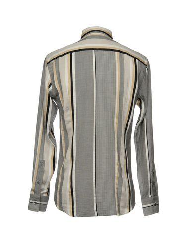utløp målgang Versace Samling Rutete Skjorte 2014 billig pris iPmgsXj5m