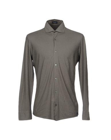 DRUMOHR Einfarbiges Hemd Zum Verkauf Kaufen Sie Authentisch Online BGkkSyLdc
