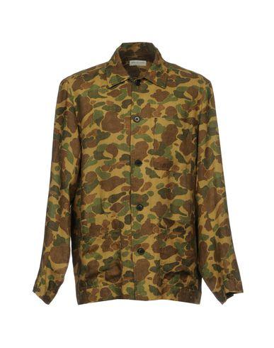 Dries Van Noten Льняная рубашка   Рубашки U by Dries Van Noten