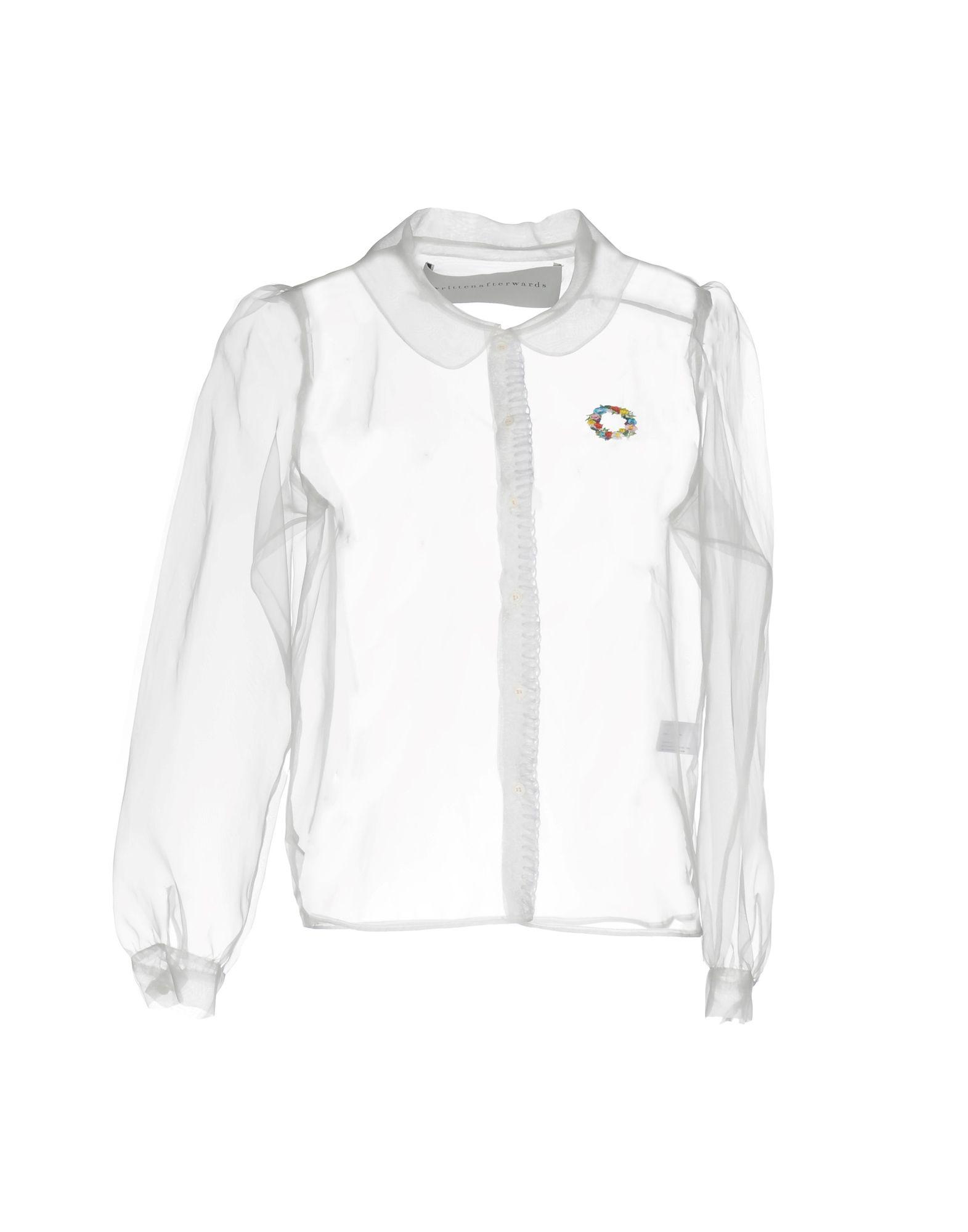 Camicie E Bluse Tinta Unita Writtenafterwards Donna - Acquista online su