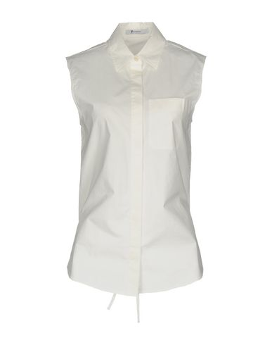 T Av Alexander Wang Camisas Y Blusas Lisas fantastisk ekte ekstremt billig pris NPVEtt