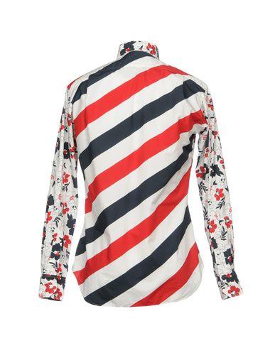 paiement de visa Thom Browne Shirt Imprimé sortie 2015 nouvelle 1D5Oc7h