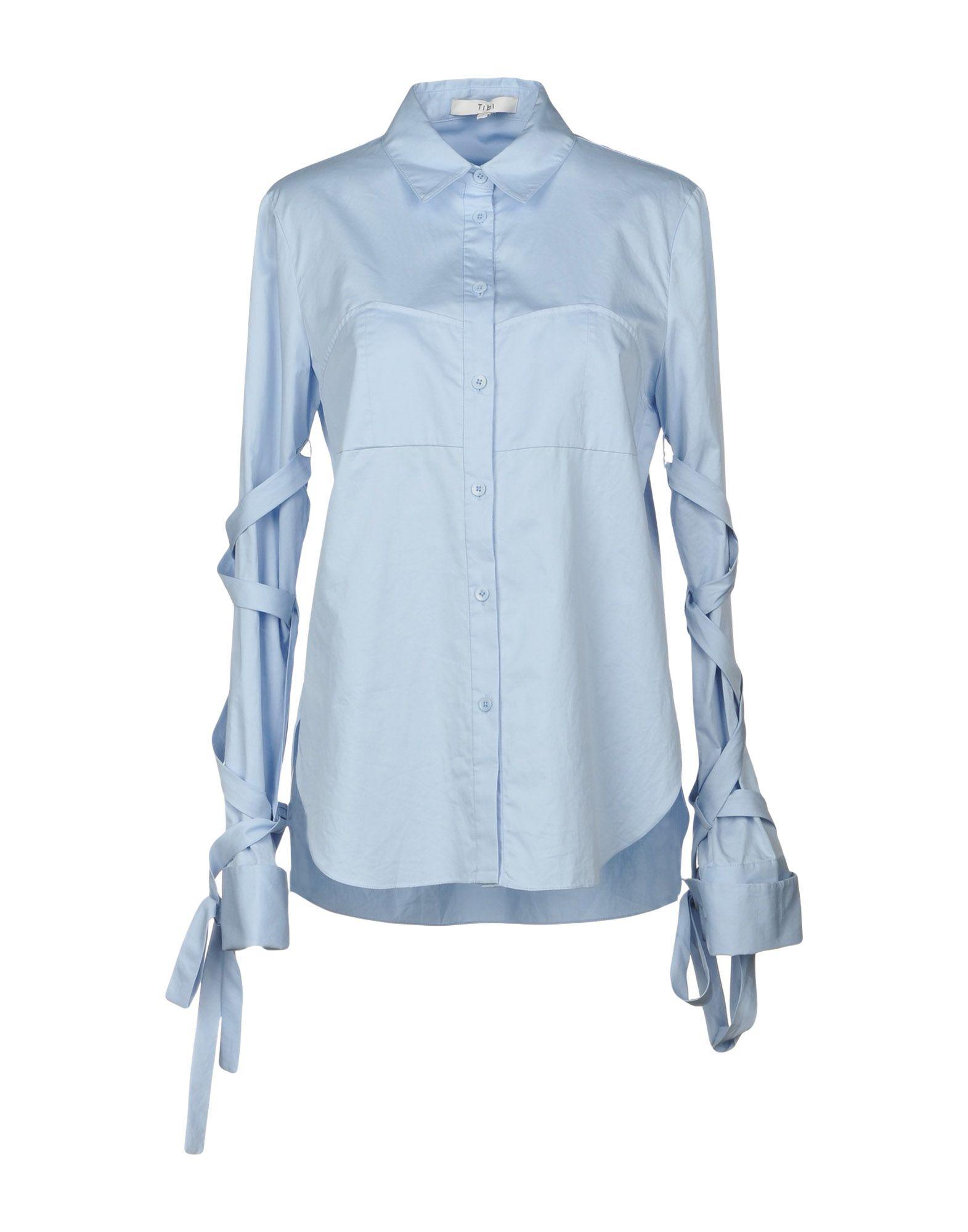 Camicie E Blause Tinta Unita Tibi damen - 38688300EX