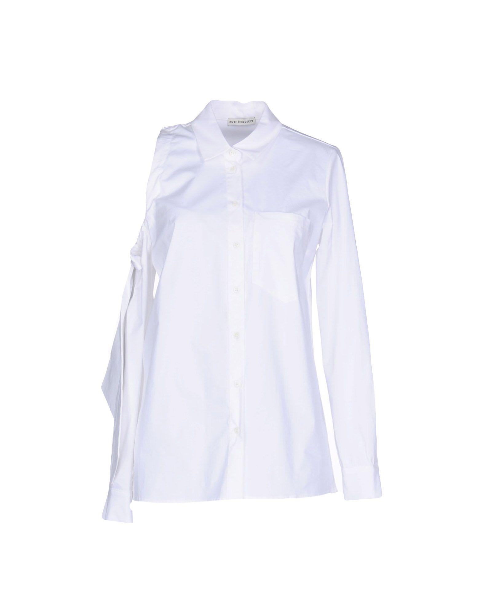 RUE•8ISQUIT Chemises et chemisiers de couleur unie