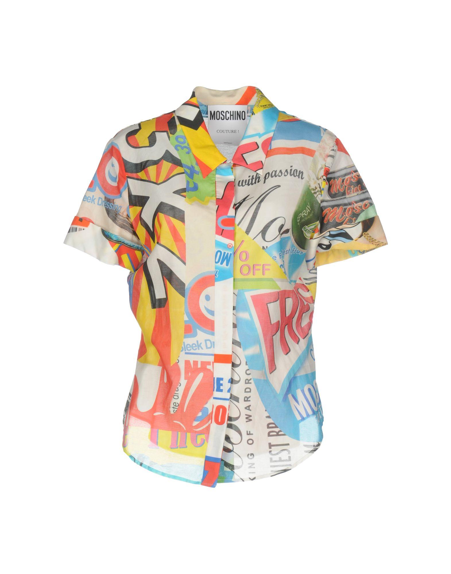 Camicie E Bluse Fantasia Moschino Donna - Acquista online su acDWdAd