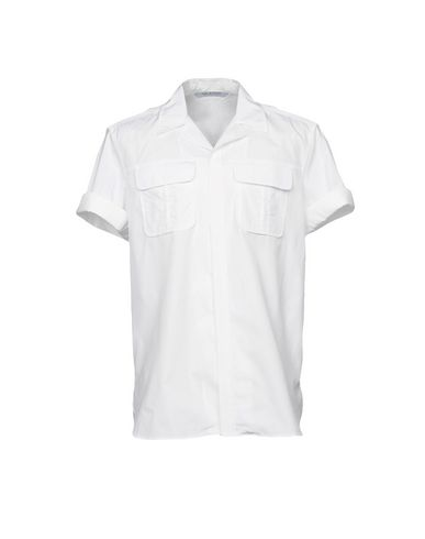 NEIL BARRETT - Camicia tinta unita