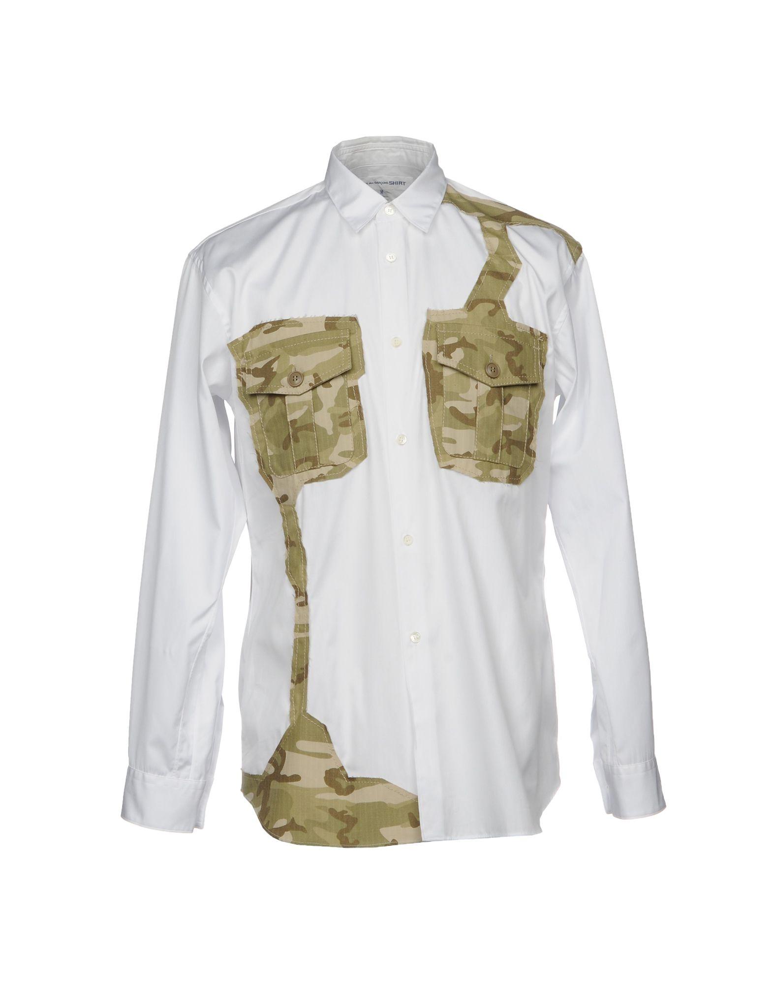 Camicia Tinta Unita Comme Des Garçons Shirt Uomo - Acquista online su