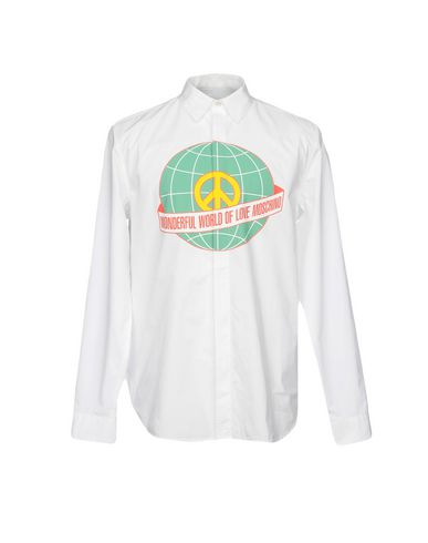 Elsker Moschino Camisa Lisa kjøpe billig pålitelig UHUoMR