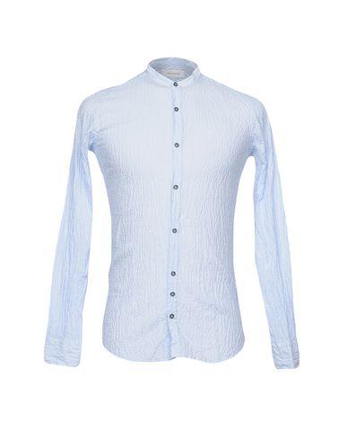 Aglini Stripete Skjorter salg fabrikkutsalg oJ0H0SH