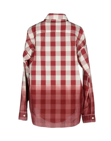 klaring tappesteder se billig pris Franklin Marshall Rutete Skjorte kjøpe billig footaction WwyJQ