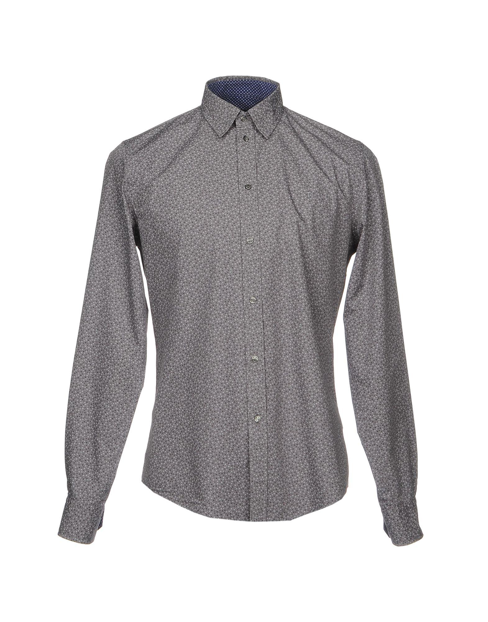 Camicia Fantasia Trussardi Jeans Uomo - 38691662NJ 38691662NJ - b79d0b