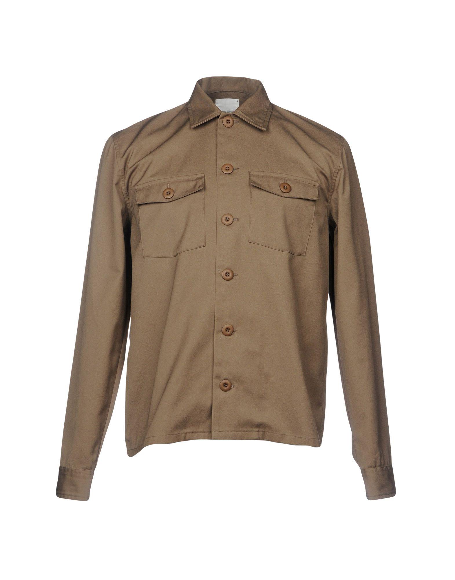 Camicia Tinta Unita Wood Wood Uomo - Acquista online su