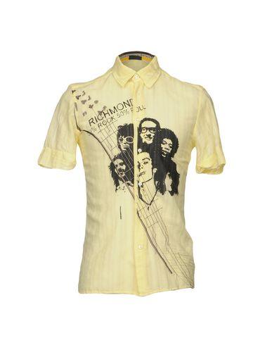 Kostenloser Versand Rabatt Verkauf Finishline RICHMOND DENIM Einfarbiges Hemd Späteste billige Online Billig Verkauf Mode-Stil Einkaufen PT9NrUq