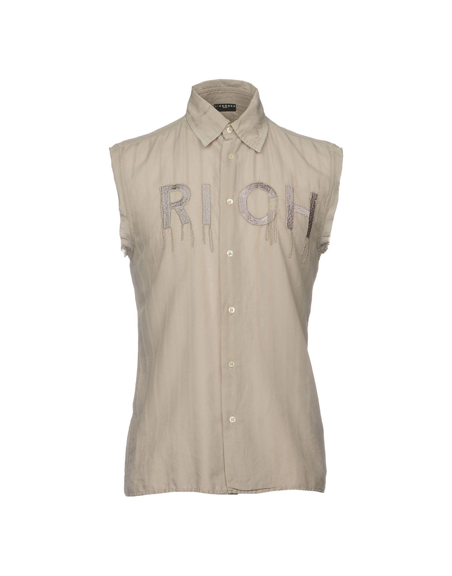 Camicia Tinta Unita Richmond Denim Uomo - Acquista online su