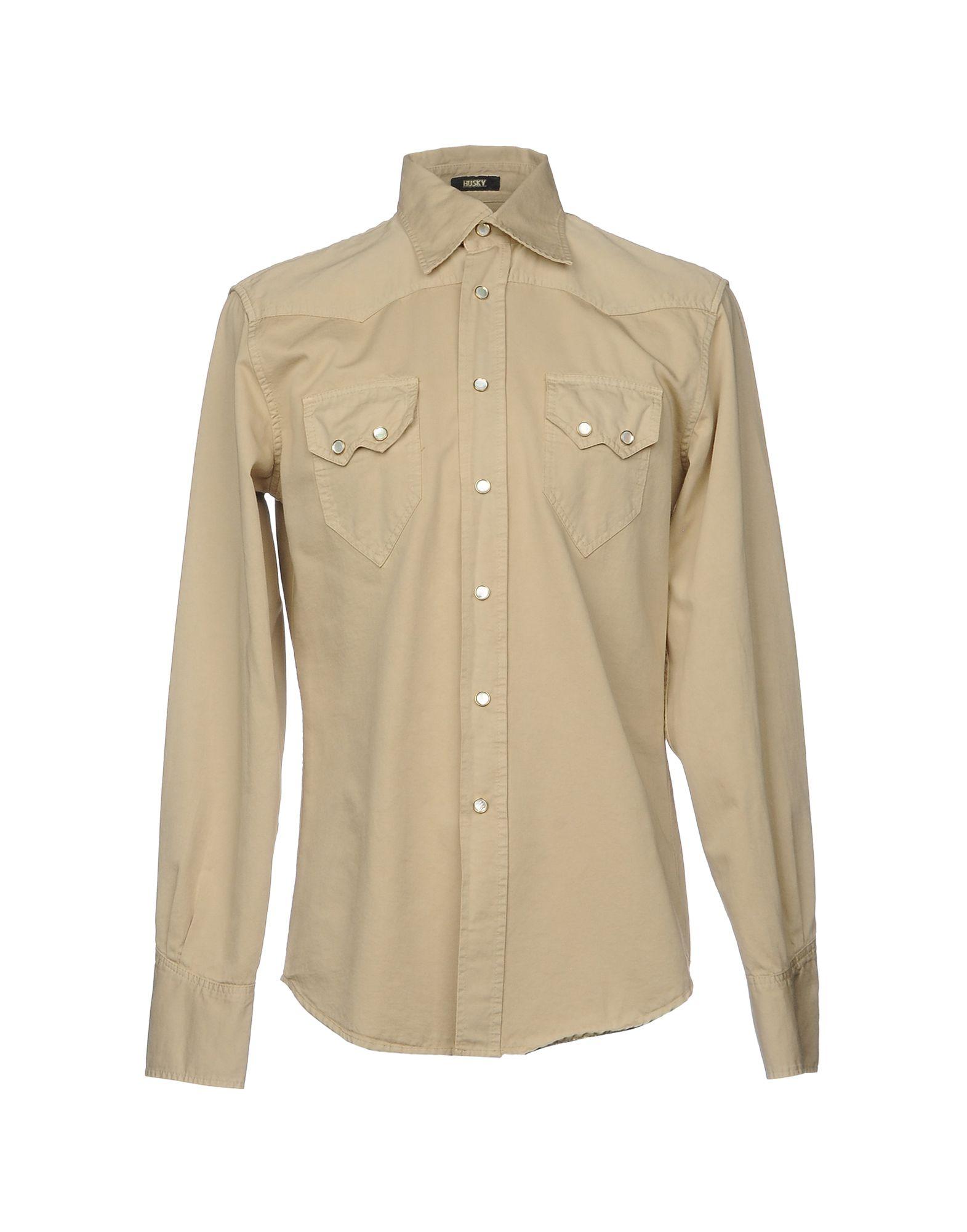 Camicia Tinta Unita Husky Uomo - Acquista online su