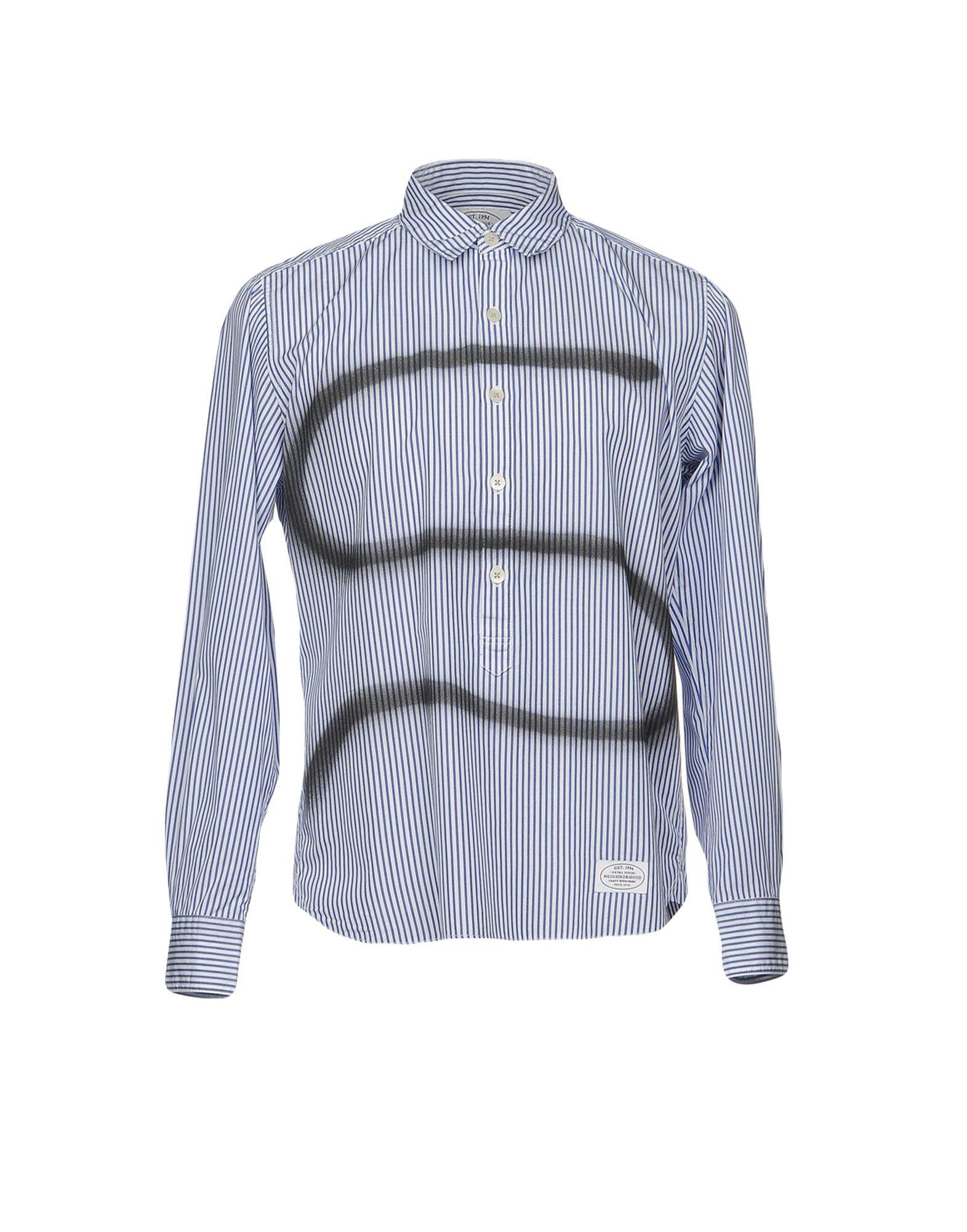 Camicia A Righe Neighborhood Uomo - Acquista online su
