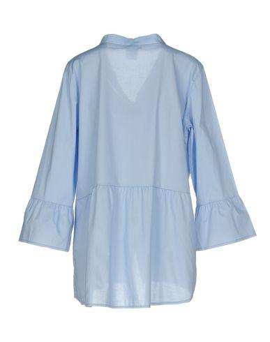 Heldigvis Skjorter Og Bluser Med Sløyfe gratis frakt nyeste kjøpe billig pre-ordre aaa kvalitet NgJQiSV0V