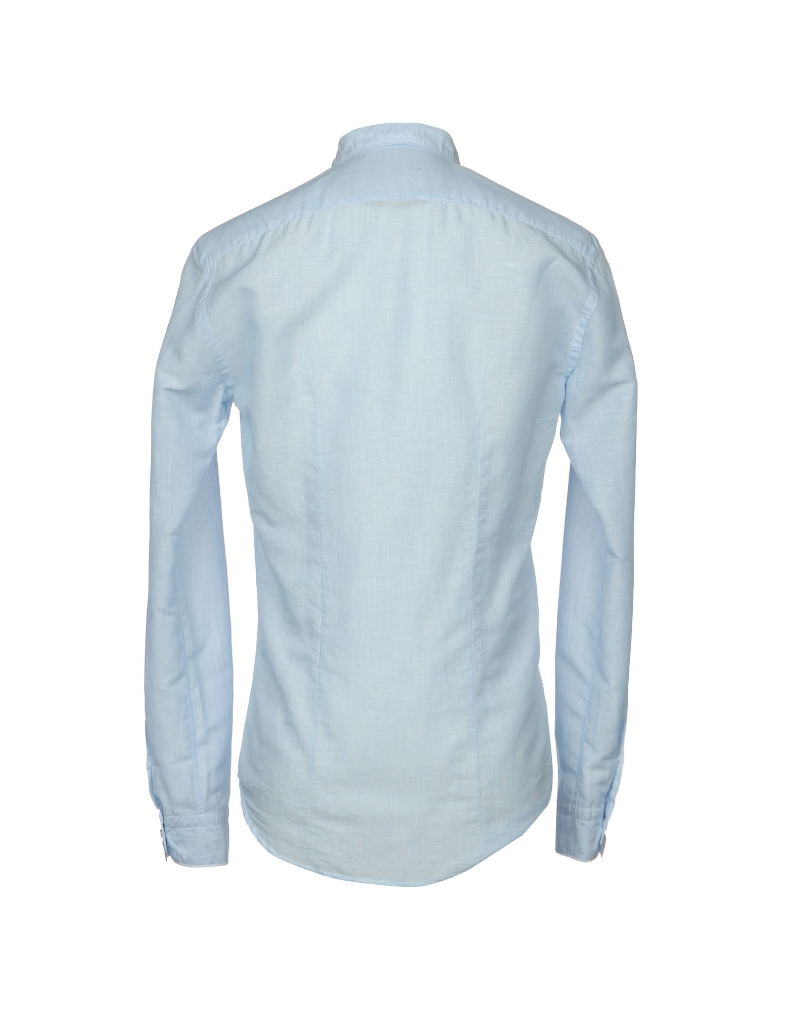 Camicia Camicia Camicia In Lino Brian Dales Uomo - 38692459WJ 855139