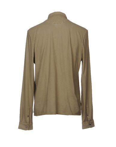 KANGRA CASHMERE Einfarbiges Hemd Billig Verkauf Der Günstigste QV49ky