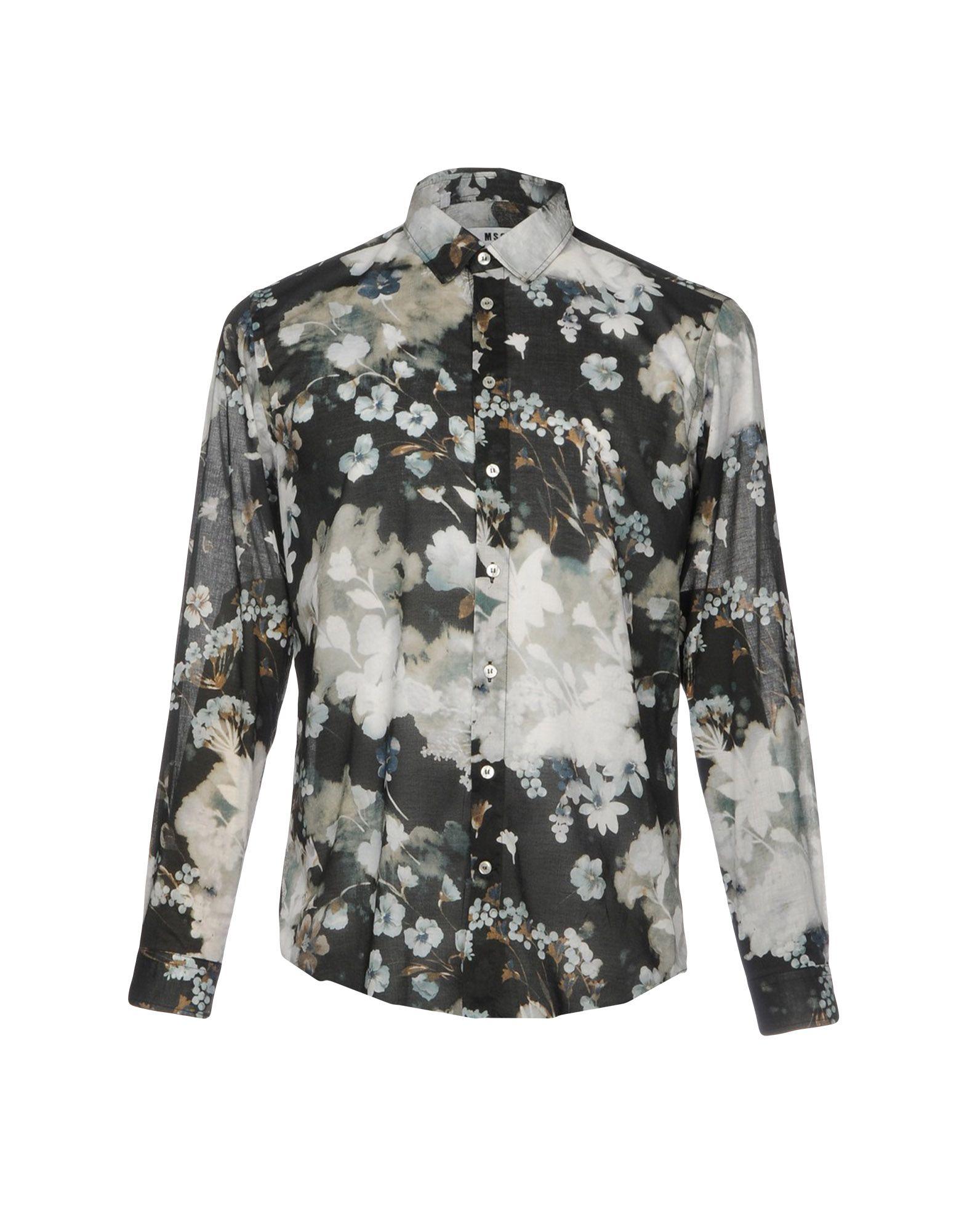 Camicia Fantasia Msgm Uomo - Acquista online su