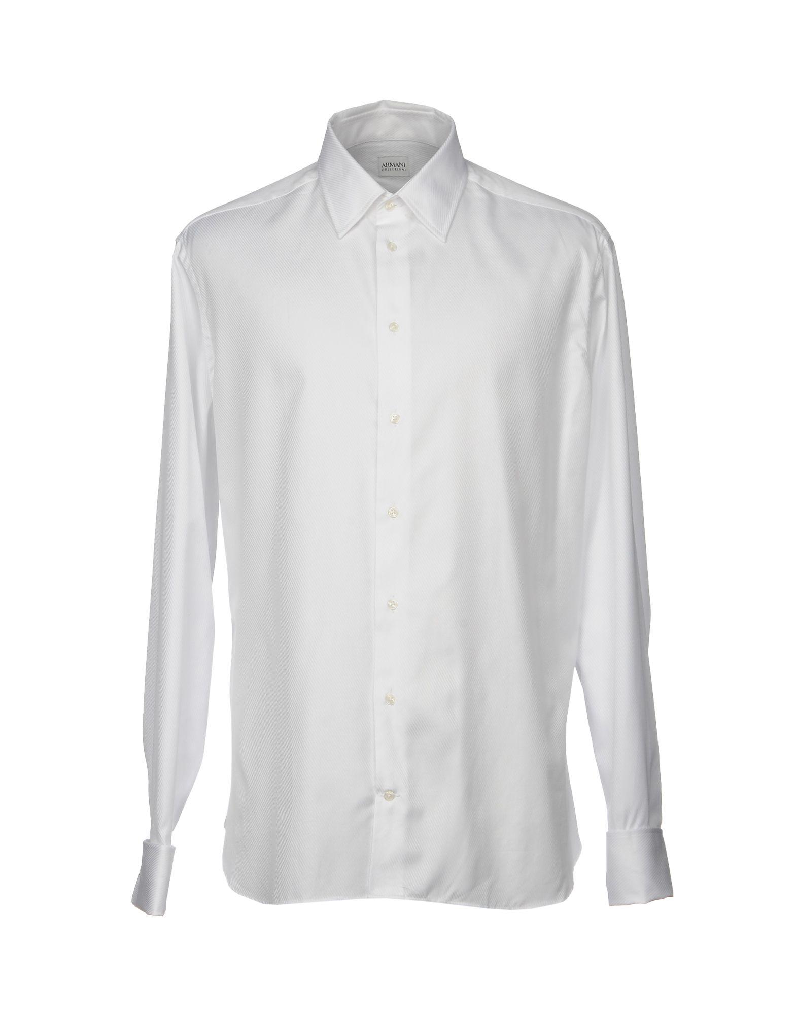 Camicia Tinta Unita Armani Collezioni Uomo - Acquista online su