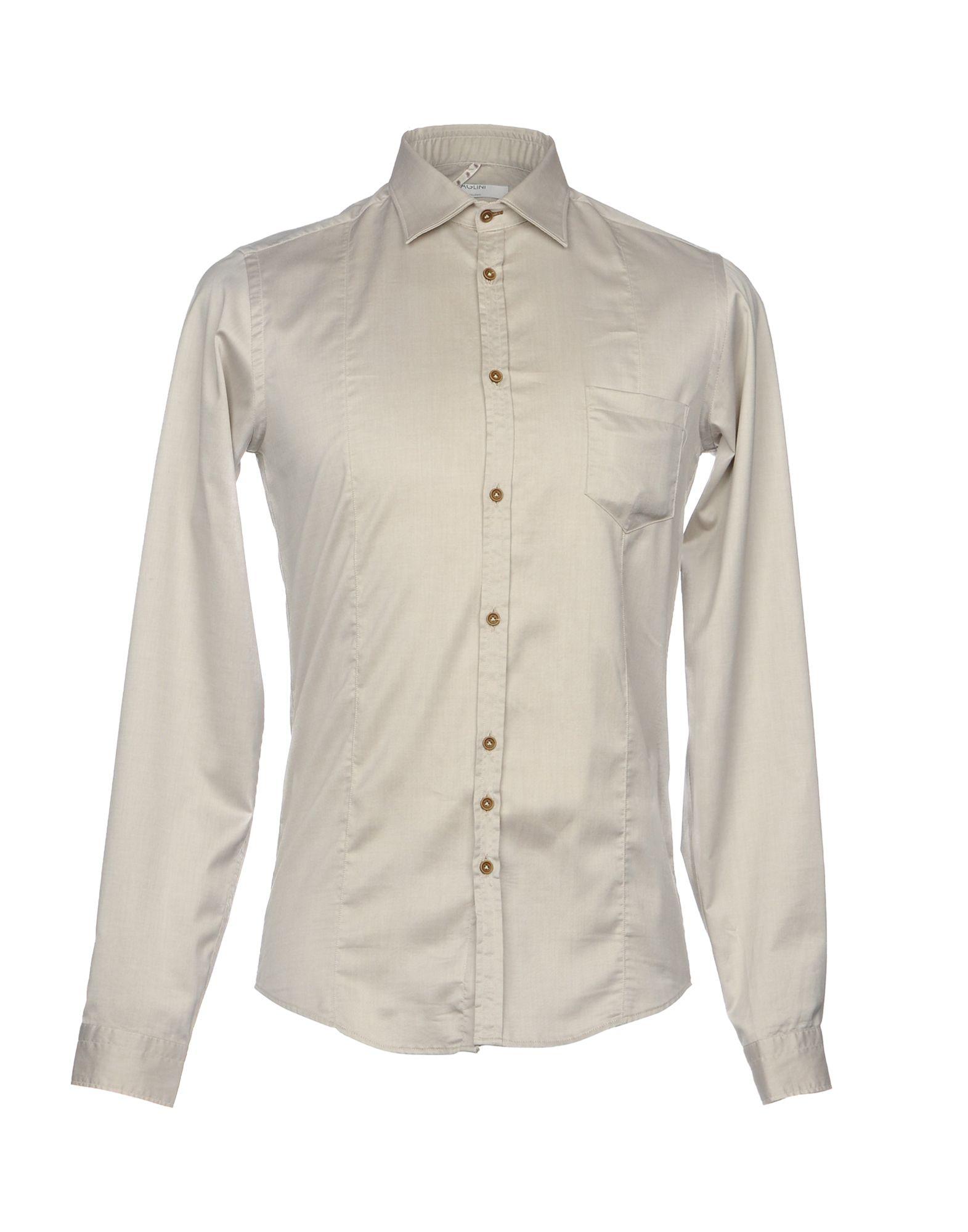 Camicia Tinta Unita 38692956OS Aglini Uomo - 38692956OS Unita 4bec38