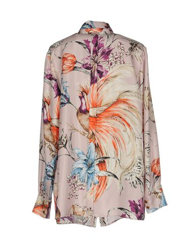 Fausto Puglisi Skjorter Og Bluser Blomster butikkens tilbud 100% opprinnelige stor rabatt billig limited edition kvalitet fabrikkutsalg 3DXPY