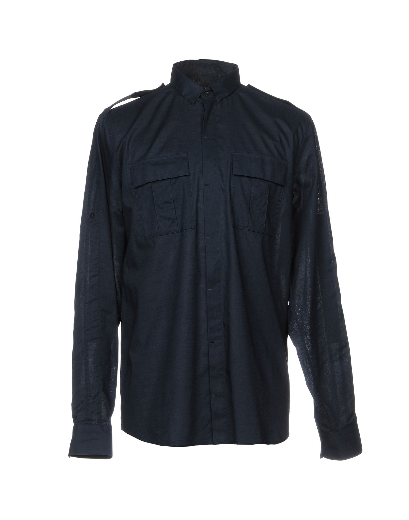 Camicia Tinta Unita Balmain Uomo - Acquista online su