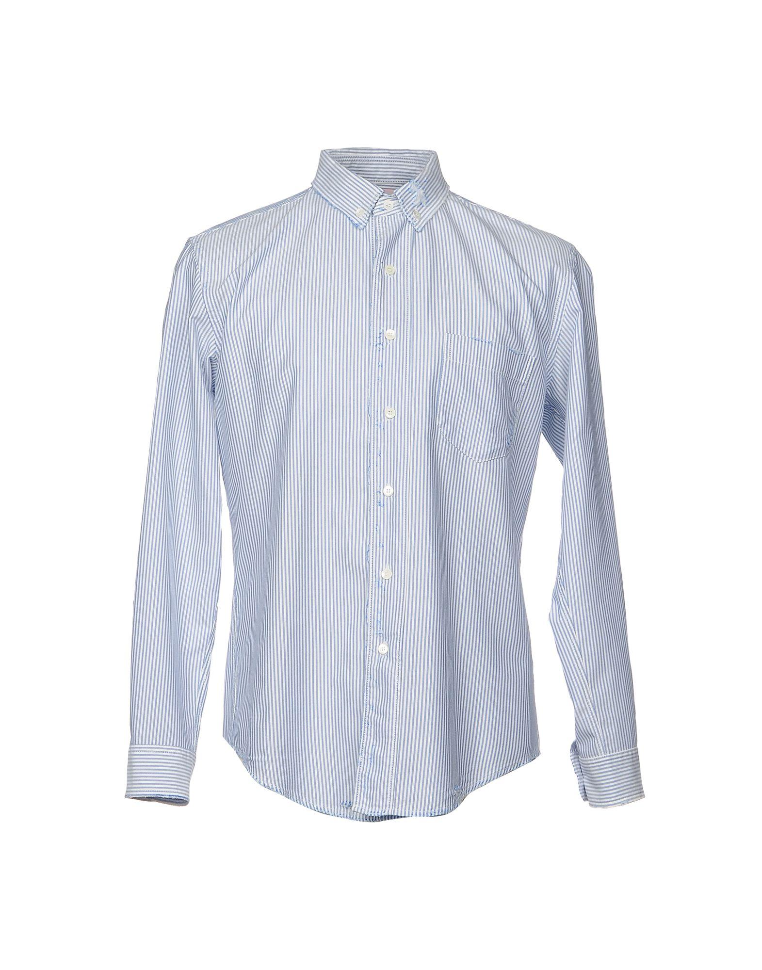 Camicia A Righe Palm Angels Uomo - Acquista online su